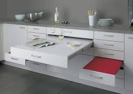 ikea pull out drawers adding pull out table to ikea 24 drawer ikea hackers