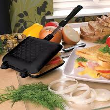Toaster Sandwich Maker Jean Patrique Toasted Sandwich Maker Black
