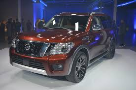2017 nissan armada first drive 2017 nissan armada pricing jumps to 45 395