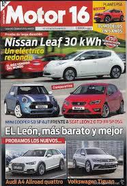 revista motor 2016 revista motor 16 nº 1672 año 2016 pru nissan l comprar revistas