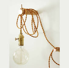 Adjustable Wall Lights Pendant Light Brass Wall Lighting Edison Bulb Adjustable