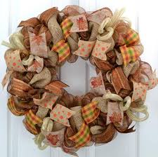 welcome fall fall welcome wreath thanksgiving deco mesh wreath