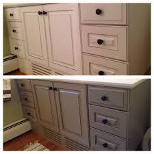 Painted Bathroom Cabinet Ideas Bathroom Cabinet Paint Ideas Coryc Me
