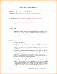 Business Buyout Agreement Template Beautiful Subcontractor Agreement Template Contemporary Office