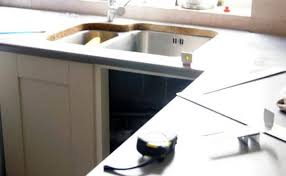 laser templating your kitchen for granite or quartz worktops now