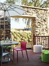 ideas for outdoor dining rooms sunset