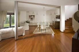 floor engineered wood flooring with lower table and white sofa