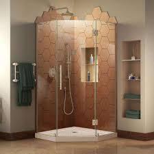 neo angle straight shower stalls u0026 kits showers the home depot