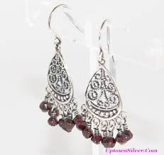 Garnet Chandelier Earrings W1766 Shop Our Selection Of Silpada Garnet Chandelier Dangle