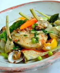 cuisiner du merlu recette merlu printanier façon koskera 750g