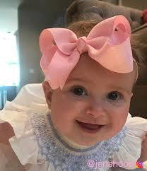 baby bow headbands baby headband light pink bow headband infant headband newborn