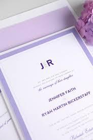 Purple Wedding Invitations Modern Wedding Invitations In Purple U2013 Wedding Invitations