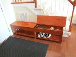 Diy Entryway Bench With Storage Entry Bench With Shoe Storage Woodmudroom Plans Diy U2013 Bradcarter Me