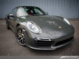 porsche slate gray metallic a special shade of gray meet the new awe tuning porsche 991 turbo