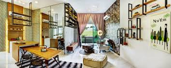 citra residency living dining dramatic effect and vintage touch