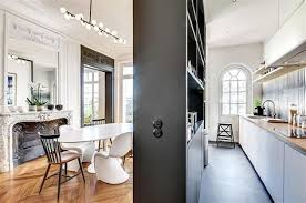 cuisine moderne et design separation cuisine salle a manger 14 index chanterac fr