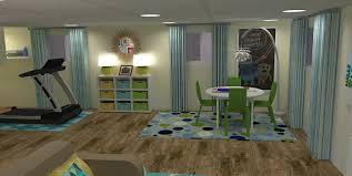 basement basement office design