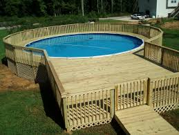 pool plans free deck plans above ground pools free round designs