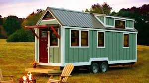 cabin style homes cozy cabin style tiny house on wheels by bear u0027s tiny homes youtube