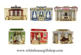 the rooms of the white house ornament collection 1 to 6 in