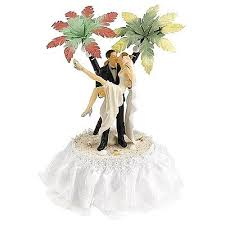 over the threshold hawaiian beach cake topper wedding collectibles