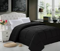 Goose Down Duvet Elegant Comfort Luxury Goose Down Alternative Double Fill