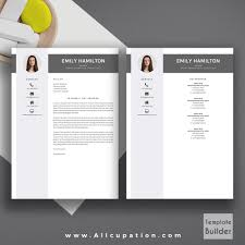 Macbook Resume Template Free by Creative Resume Template Modern Cv Template Word Cover Letter