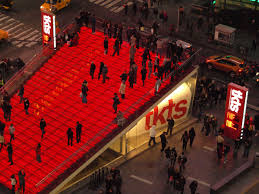 theatre development fund broadway ticket booth times square new