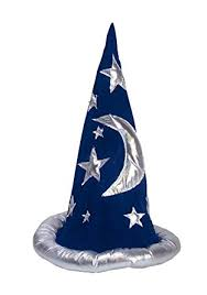 amazon com adult or child wizard costume hat costume accessory