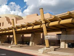 modern southwest adobe building stock photo getty images