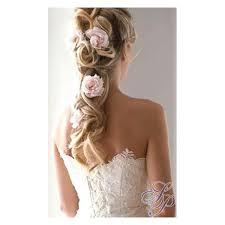 fleurs cheveux mariage saumon à piquer cheveux coiffure mariage fleurs coiffure