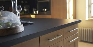 plan de travail cuisine gris anthracite