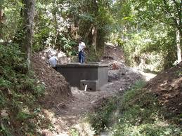 completion of la crucita spring box honduras water charity