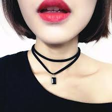 vintage leather choker necklace images 88 best necklaces images choker necklaces jpg