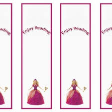 barbie bookmarks u2013 birthday printable