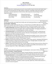 Resume Stanford 7 Social Media Resumes Free Samples Examples Formats Download