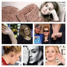 adele tattoos u2013 hand arm back matching tattoos with lana del rey