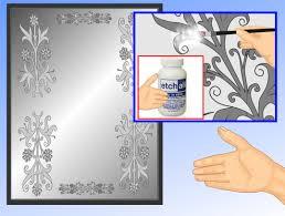stencil or frost a mirror mirrored closet doors closet doors
