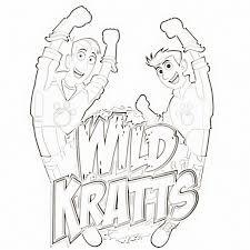 free coloring pages of wild kratts martin wild kratts coloring