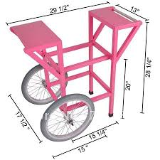 Where To Buy Pink Cotton Candy Metal Wheel Commercial Cotton Candy Machine Cart Pink Floss Maker