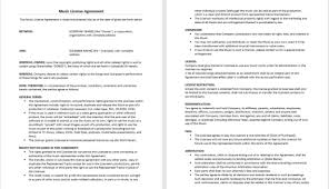 licensing agreement template free agreement templates official tips