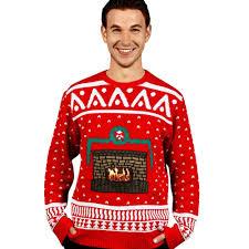 digital dudz crackling fireplace digital sweater at