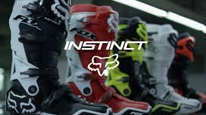 fox boots motocross fox mx instinct boots the fastest boots in motocross mxstore