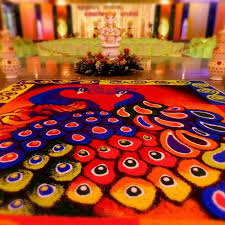 rangoli decoration rangoli a more traditional way of decorating your wedding venue