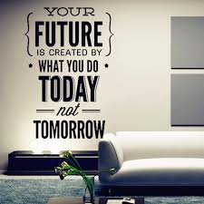 Decorate Office Walls Ideas New Inspirational Quotes Wall Stickers