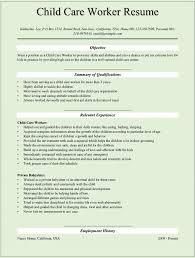 Child Development Resume Child Care Sle Resume 28 Images Professional Day Care Center