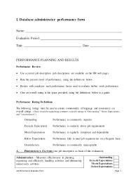 Dba Administrator Resume Database Administrator Job Description Office Administrator