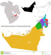 United Arab Emirates Map United Arab Emirates Map Stock Photography Image 31445592