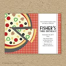 Design Your Own Invitations Pizza Party Invitations Iidaemilia Com
