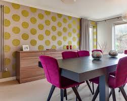 6 contemporary dining room ideas wallpaper ink